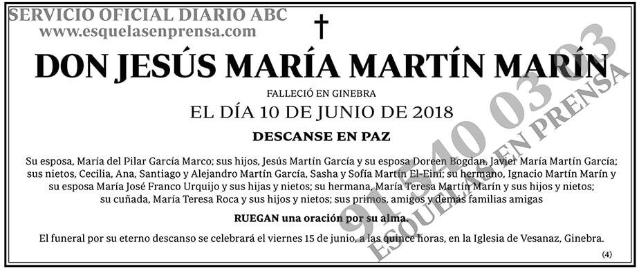 Jesús María Martín Marín